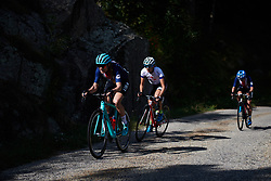 Tayler Wiles (USA) at Tour Cycliste Féminin International de l'Ardèche 2018 - Stage 3, a 129.6km road race from St Sauveur de Montagut to Villeneuve de Berg, France on September 14, 2018. Photo by Sean Robinson/velofocus.com