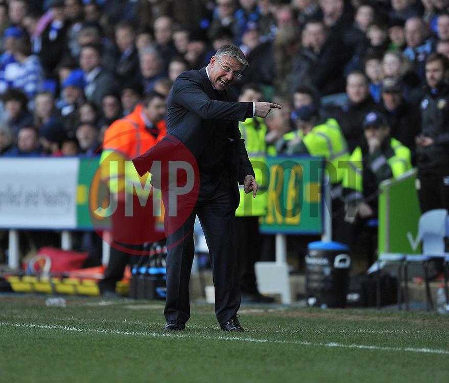 Reading Manager, Nigel Adkins - Photo mandatory by-line: Alex James/JMP - Tel: Mobile: 07966 386802 01/03/2014 - SPORT - FOOTBALL - Reading - Madejski Stadium - Reading v Yeovil Town - Sky Bet Championship