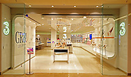 3 Network Store Fitout by Angley Arrow Smith .Chadstone Shopping Centre, Melbourne, Victoria.1st of October 2009.(C) Joel Strickland Photographics.Use information: This image is intended for Editorial use only (e.g. news or commentary, print or electronic). Any commercial or promotional use requires additional clearance.