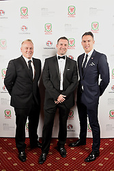 CARDIFF, WALES - Monday, October 5, 2015: Wales' xxxx during the FAW Awards Dinner at Cardiff City Hall. (Pic by Pete Thomas/Propaganda)