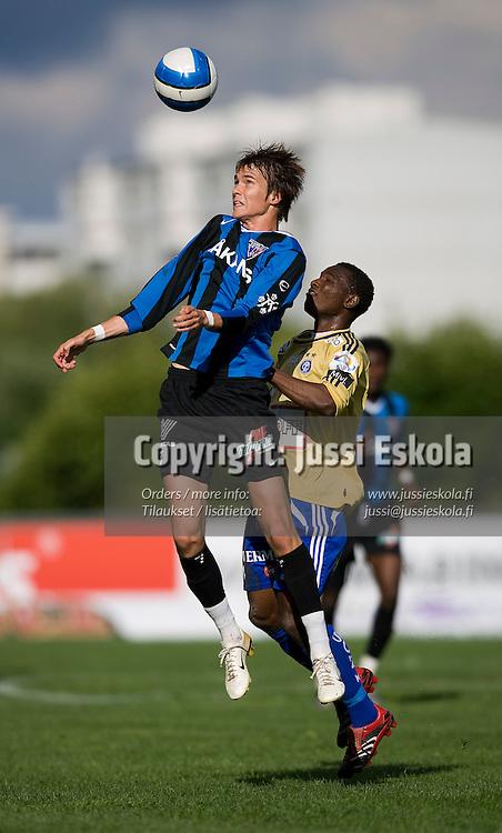 Teemu Turunen. Inter - HJK. Veikkausliiga. Turku 28.6.2007. Photo: Jussi Eskola