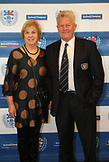 Brian Francis and partner during the Auckland Rugby awards night held at Eden Park on the 25th of October 2017. <br /> Credit; Peter Meecham/ www.photosport.nz
