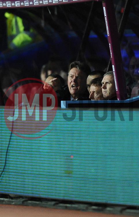 Manchester United Manager, Louis van Gaal  - Photo mandatory by-line: Joe Meredith/JMP - Mobile: 07966 386802 - 20/12/2014 - SPORT - football - Birmingham - Villa Park - Aston Villa v Manchester United - Barclays Premier League