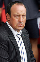 Photo: Paul Thomas.<br /> Liverpool v West Ham United. The Barclays Premiership. 26/08/2006.<br /> <br /> Rafael Benitez, Liverpool manager.