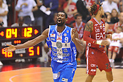 DESCRIZIONE :  Lega A 2014-15  EA7 Milano -Banco di Sardegna Sassari playoff Semifinale gara 7<br /> GIOCATORE : Lawal Shane<br /> CATEGORIA : Low Esultanza Mani <br /> SQUADRA : Banco di Sardegna Sassari<br /> EVENTO : PlayOff Semifinale gara 7<br /> GARA : EA7 Milano - Banco di Sardegna Sassari PlayOff Semifinale Gara 7<br /> DATA : 10/06/2015 <br /> SPORT : Pallacanestro <br /> AUTORE : Agenzia Ciamillo-Castoria/A.Scaroni<br /> Galleria : Lega Basket A 2014-2015 Fotonotizia : Milano Lega A 2014-15  EA7 Milano - Banco di Sardegna Sassari playoff Semifinale  gara 7<br /> Predefinita :