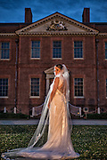 Kasi Bridal Portrait | Tryon Palace Photographers