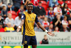 Tammy Abraham of Bristol City gestures - Mandatory by-line: Matt McNulty/JMP - 10/09/2016 - FOOTBALL - Aesseal New York Stadium - Rotherham, England - Rotherham United v Bristol City - Sky Bet Championship