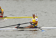 Poznan, POLAND.  2006, FISA, Rowing World Cup, SWE W1X, Frida Svensson,  'Malta Regatta course;  Poznan POLAND, Sat. 17.06.2006. © Peter Spurrier   ....[Mandatory Credit Peter Spurrier/ Intersport Images] Rowing Course:Malta Rowing Course, Poznan, POLAND