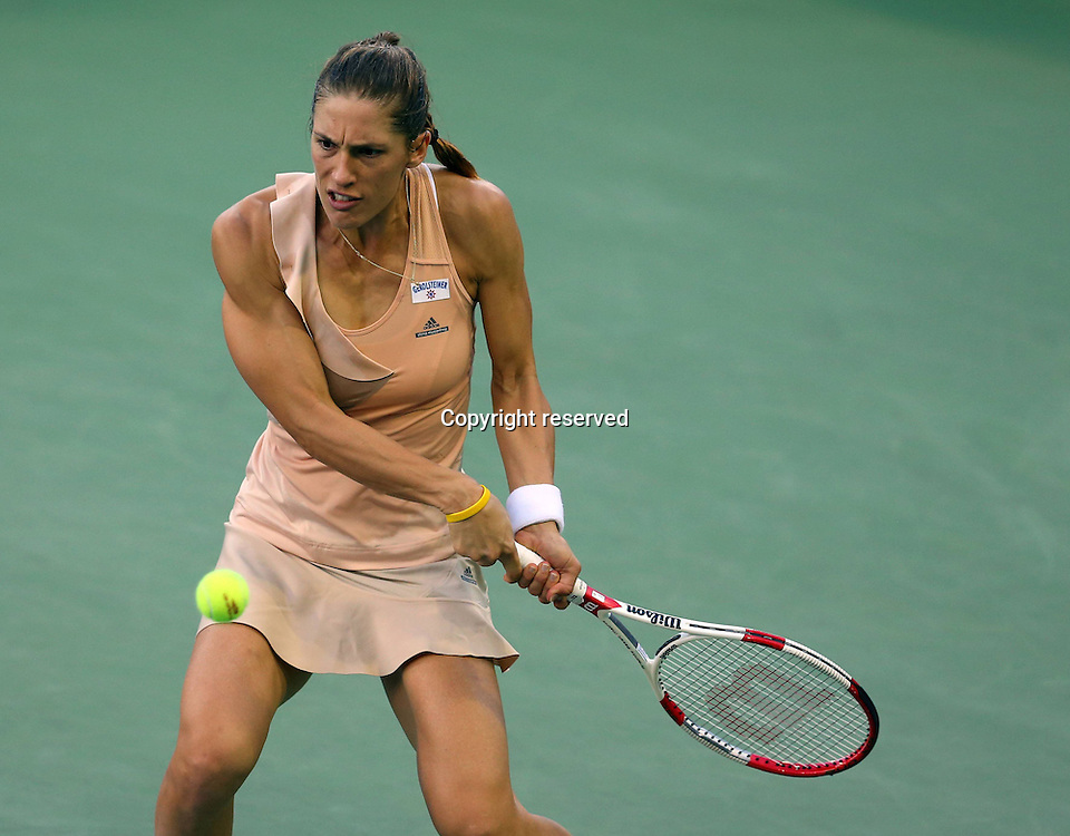 30.08.2014. Flushing Meadows, New York, USA. US Open tennis championships.  Andrea Petkovic (GER)