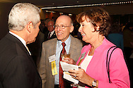 (from right) Maggie Zimmer and Paul Zimmer of Pickrel, Schaeffer and Ebeling during the Better Business Bureau's Eclipse Integrity Awards dinner at the Ponitz Center at Sinclair Community College in downtown Dayton, Tuesday, May 8, 2012.