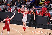 MILANO 30 OTTOBRE 2015<br /> BASKET EUROLEGA<br /> Olimpia EA7 Emporio Armani Milano Olympiacos Pireo<br /> NELLA FOTO AGRAVANIS<br /> FOTO CIAMILLO