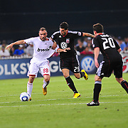 D.C. United take on AC Milan in a friendly at RFK Stadium in Washington, D.C.