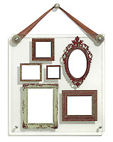 family album picture frame collection