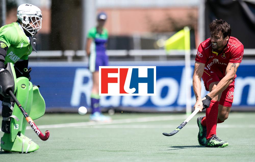 BREDA - Rabobank Hockey Champions Trophy<br /> 5th/6th place Belgium - Pakistan<br /> Belgium wins after shoot out.<br /> Photo: Simon Gougnard.<br /> COPYRIGHT WORLDSPORTPICS FRANK UIJLENBROEK