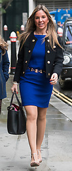 © Licensed to London News Pictures. 23/10/2017. London, UK. Nathalie Dauriac-Stoebe arrives at the High Court in London, where she is one of three women claiming they were unfairly treated while working for billionaire Phones 4U businessman John Caudwell. Photo credit: Ben Cawthra/LNP