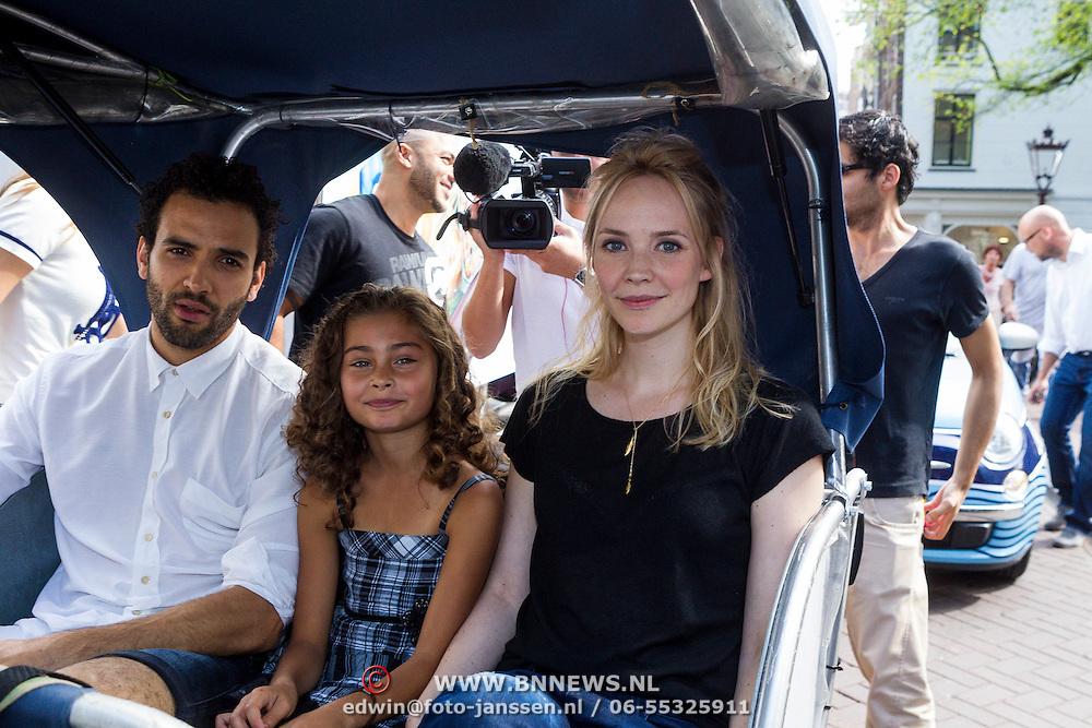 NLD/Amsterdam/20130906 - Perspresentatie cast Hartenstraat, Marwan Kenzami