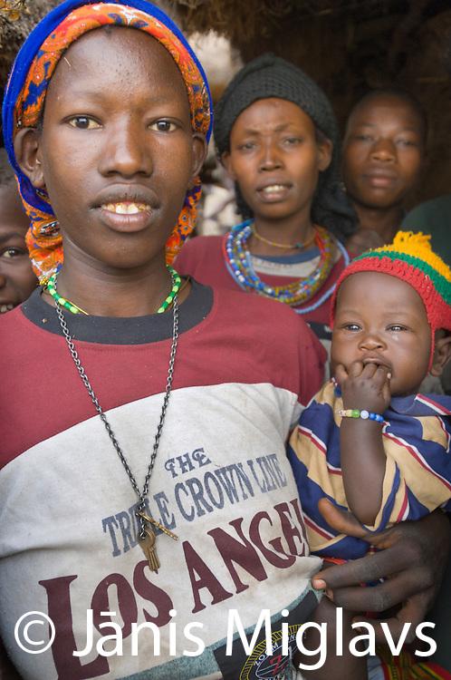 Busso village, Konso tribe, southern Ethiopia.