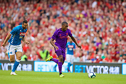 DUBLIN, REPUBLIC OF IRELAND - Saturday, August 4, 2018: Liverpool's Daniel Sturridge during the preseason friendly match between SSC Napoli and Liverpool FC at Landsdowne Road. (Pic by David Rawcliffe/Propaganda)