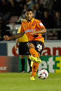 Picture by David Horn/Focus Images Ltd +44 7545 970036.30/08/2012.David Davis of Wolverhampton Wanderers during the Capital One Cup match at Sixfields Stadium, Northampton.