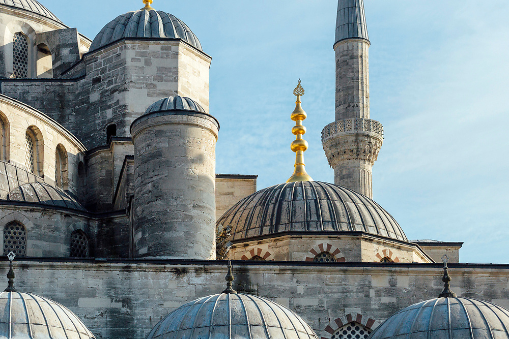 Blue Mosque, Sultan Ahmed Mosque, Istanbul, Turkey, 2015–11-16.