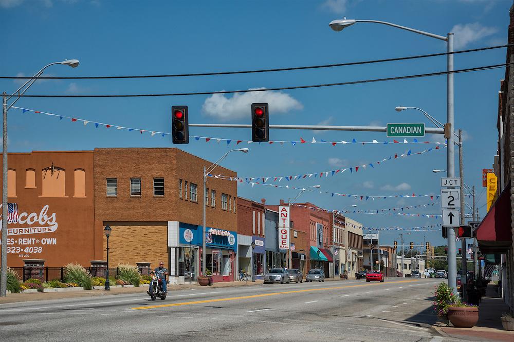 USA, Midwest, Oklahoma, Route 66,Vinita