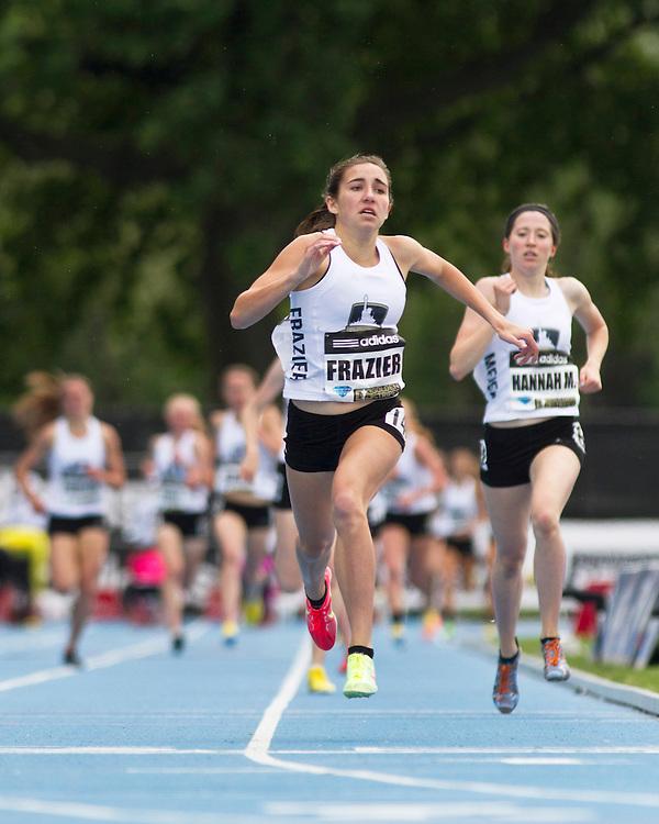 adidas Grand Prix track & field: high school girls Dream Mile, Wesley Frazier