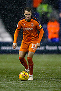 Luton Town midfielder Andrew Shinnie (11) during the EFL Sky Bet League 1 match between Luton Town and Portsmouth at Kenilworth Road, Luton, England on 29 January 2019.