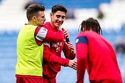 Callum O'Dowda and Jamie Paterson of Bristol City joke around - Rogan/JMP - 18/11/2017 - Hillsborough Stadium - Sheffield, England - Sheffield Wednesday v Bristol City - Sky Bet Championship.