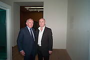 FRANCOIS PINAULT; DAMIEN HIRST, Damien Hirst, Tate Modern: dinner. 2 April 2012.