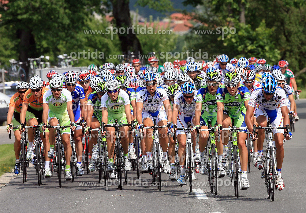 Peloton during 1st stage of the 15th Tour de Slovenie from Ljubljana to Postojna (161 km) , on June 11,2008, Slovenia. (Photo by Vid Ponikvar / Sportal Images)/ Sportida)