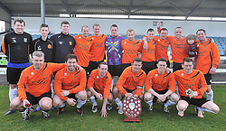 Straide &amp; Foxford United Connaught Shield winners.<br /> Pic Conor McKeown