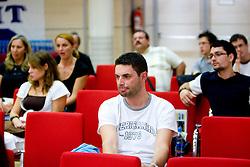 """Okrogla miza na temo """"Kolajna - kljuc do blagovne znamke?"""" v organizaciji SportForum Slovenija, 24. september 2009, Austria Trend Hotel, Ljubljana, Slovenija. (Photo by Vid Ponikvar / Sportida)"""