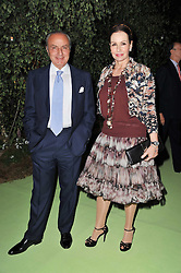 MR & MRS SAMIR TRABOULSI at a dinner hosted by Cartier in celebration of the Chelsea Flower Show held at Battersea Power Station, 188 Kirtling Street, London SW8 on 23rd May 2011.