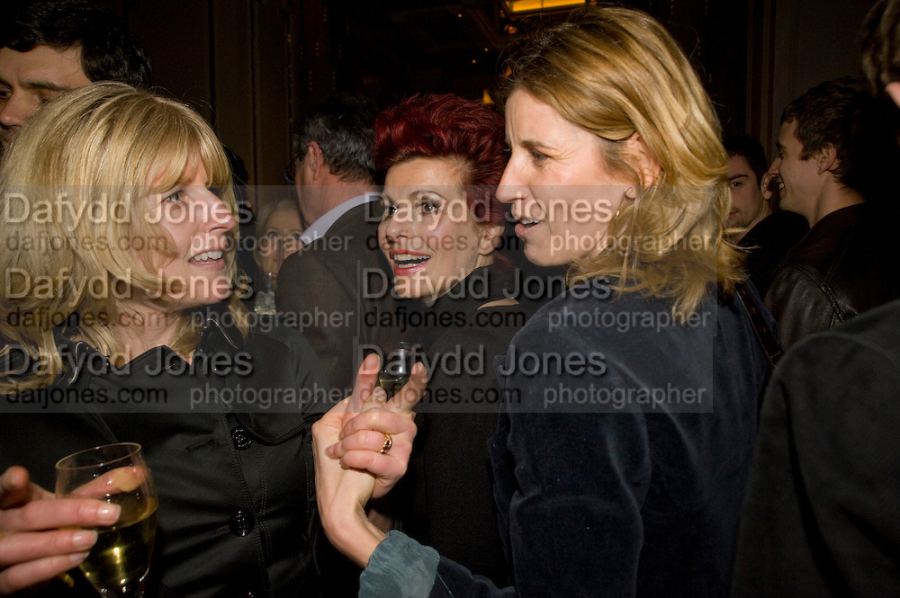 RACHEL JOHNSON; CLEO ROCOS ARABELLA POLLEN, Book party; Jessica Adams, Maggie Alderson, Imogen Edwards-Jones and Kathy Lette host the launch of 'In Bed With.' Artesian, The Langham, Portland Place. London. 11 February 2009 *** Local Caption *** -DO NOT ARCHIVE-© Copyright Photograph by Dafydd Jones. 248 Clapham Rd. London SW9 0PZ. Tel 0207 820 0771. www.dafjones.com.<br /> RACHEL JOHNSON; CLEO ROCOS ARABELLA POLLEN, Book party; Jessica Adams, Maggie Alderson, Imogen Edwards-Jones and Kathy Lette host the launch of 'In Bed With.' Artesian, The Langham, Portland Place. London. 11 February 2009