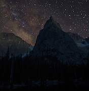 Lone Eagle Peak amongst the Milky Way. Such a humbling and beautiful sight to behold. #Colorado #astrophotography