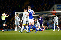 Alan Judge of Ipswich Town makes a tackle on Harry Wilson of Derby County - Mandatory by-line: Phil Chaplin/JMP - 13/02/2019 - FOOTBALL - Portman Road - Ipswich, England - Ipswich Town v Derby County - Sky Bet Championship