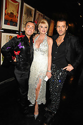 Left to right,  JULIEN MACDONALD, IVANA TRUMP and her fiancé ROSSANO RUBICONDI at Andy & Patti Wong's Chinese new Year party held at County Hall and Dali Universe, London on 26th January 2008.<br /> <br /> NON EXCLUSIVE - WORLD RIGHTS (EMBARGOED FOR PUBLICATION IN UK MAGAZINES UNTIL 1 MONTH AFTER CREATE DATE AND TIME) www.donfeatures.com  +44 (0) 7092 235465