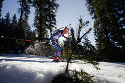 Ondrej Moravec (CZE) during Men 15 km Mass Start at day 4 of IBU Biathlon World Cup 2015/16 Pokljuka, on December 20, 2015 in Rudno polje, Pokljuka, Slovenia. Photo by Ziga Zupan / Sportida