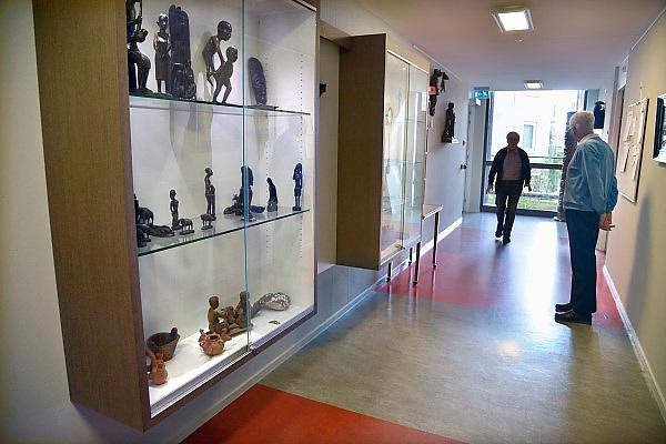 Nederland, Gennep, 3-5-2013Rusthuis voor paters, missionarissen van de orde der Spiritijnen die missiewerk deden in Afrika en Zuid Amerika.Foto: Flip Franssen