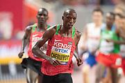 Timothy Cheruiyot (Kenya), 1500 Metres Men Final, during the 2019 IAAF World Athletics Championships at Khalifa International Stadium, Doha, Qatar on 6 October 2019.