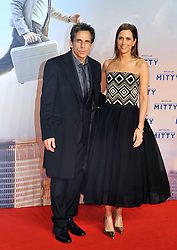 Actor Ben Stiller and Kirsten Wiig attend the German premiere of the film 'The Secret Life Of Walter Mitty' (Das erstaunliche Leben des Walter Mitty) at Zoo Palast on December 11, 2013 in Berlin, Germany,. Wednesday, 11th December 2013. Picture by  Schneider-Press / i-Images<br /> UK & USA ONLY