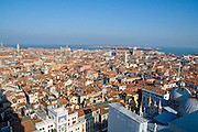 Italy, Venice, Elevated Cityscape