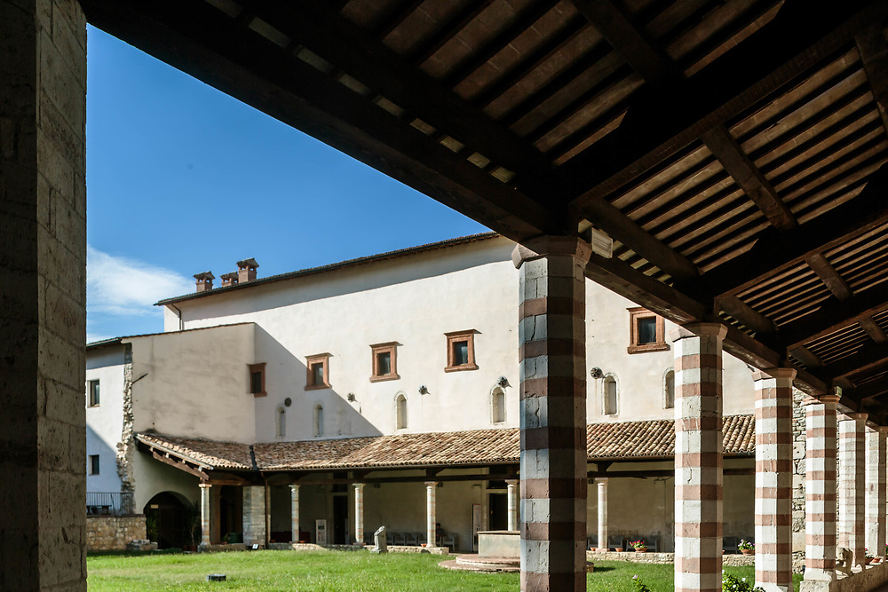 12 SEP 2015 - Spoleto (PG) - Complesso monumentale San Nicolò.