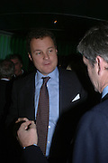 Viscount Rothermere. Launch dinner for Island Beauty by India Hicks hosted by Charles Finch and Harvey Nichols Fifth Floor Restaurant. London. .  14  November 2005 . ONE TIME USE ONLY - DO NOT ARCHIVE © Copyright Photograph by Dafydd Jones 66 Stockwell Park Rd. London SW9 0DA Tel 020 7733 0108 www.dafjones.com