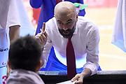 Buscaglia Maurizio<br /> Grissin Bon Reggio Emilia - Virtus Roma<br /> Lega Basket Serie A 2019/2020<br /> Reggio Emilia, 29/12/2019<br /> Foto A.Giberti / Ciamillo - Castoria