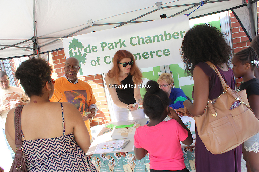 The Hyde Park Chamber of Commerce held its first Dinner Crawl Tuesday afternoon where participants were allowed to taste the cuisine from neighborhood restaurants. The next Dinner Crawl will happen in July.