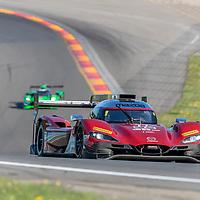 The Mazda Team Joest car practice for the Sahlen's Six Hours At The Glen at Watkins Glen International Raceway in Watkins Glen, New York.