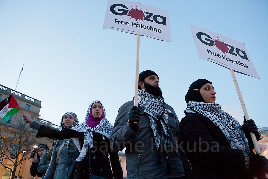 Gaza Protest, London, UK.