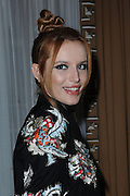 Sept. 8, 2014 - New York, NY, USA - <br /> <br /> Bella Thorne attending the Alice + Olivia By Stacy Bendet presentation during Mercedes-Benz Fashion Week Spring 2015 at The Pierre Hotel<br /> ©Exclusivepix