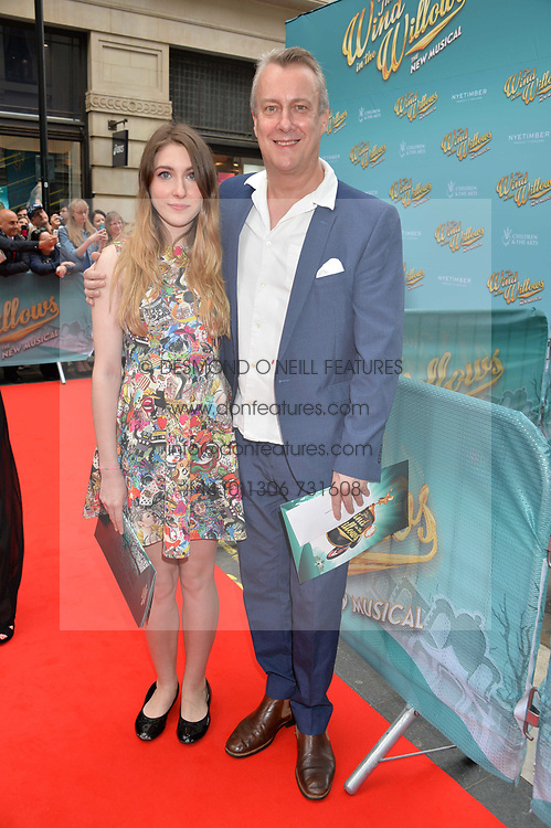 Stephen Tompkinson arriving at The opening night of Wind in The Willows at the London Palladium, Argyll Street, London England. 29 June 2017.<br /> Photo by Dominic O'Neill/SilverHub 0203 174 1069 sales@silverhubmedia.com
